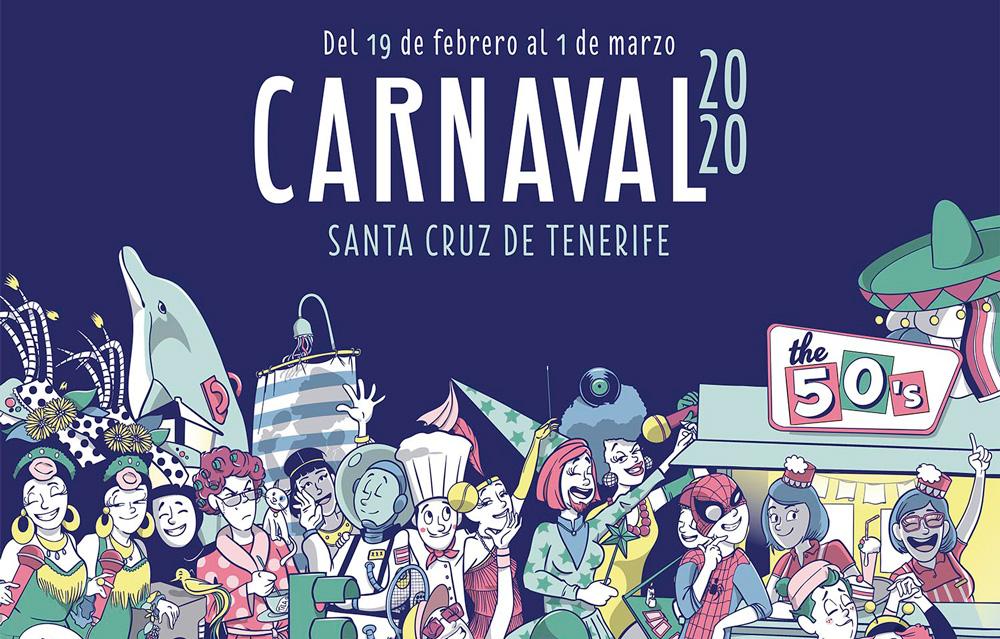 карнавал на тенерифе 2020
