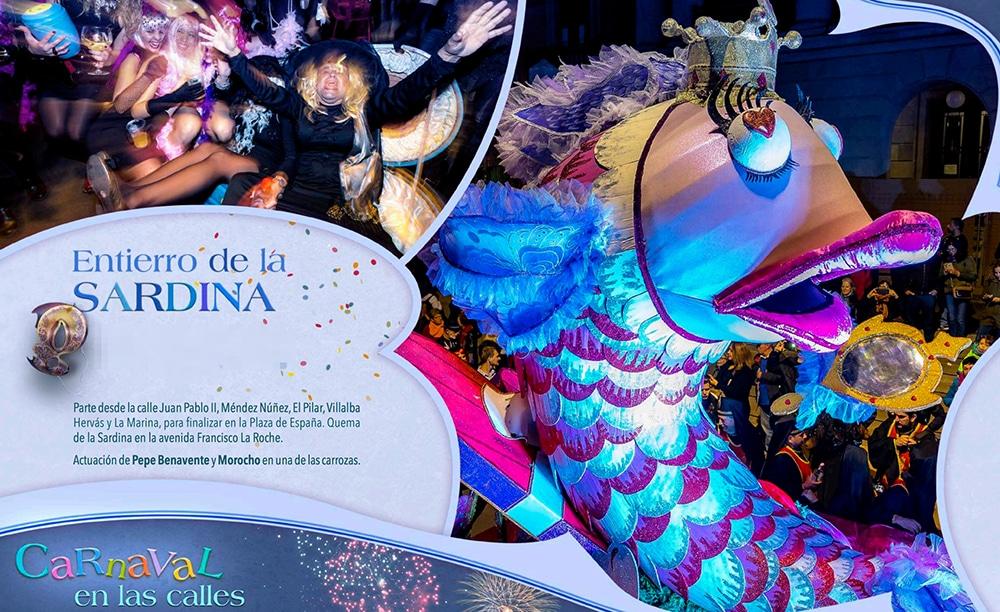 карнавала на тенерифе похороны сардины