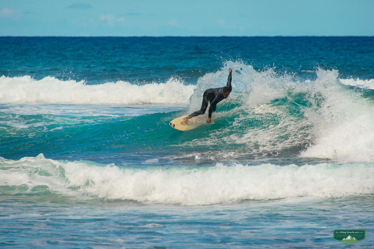 серфинг на севере тенерифе