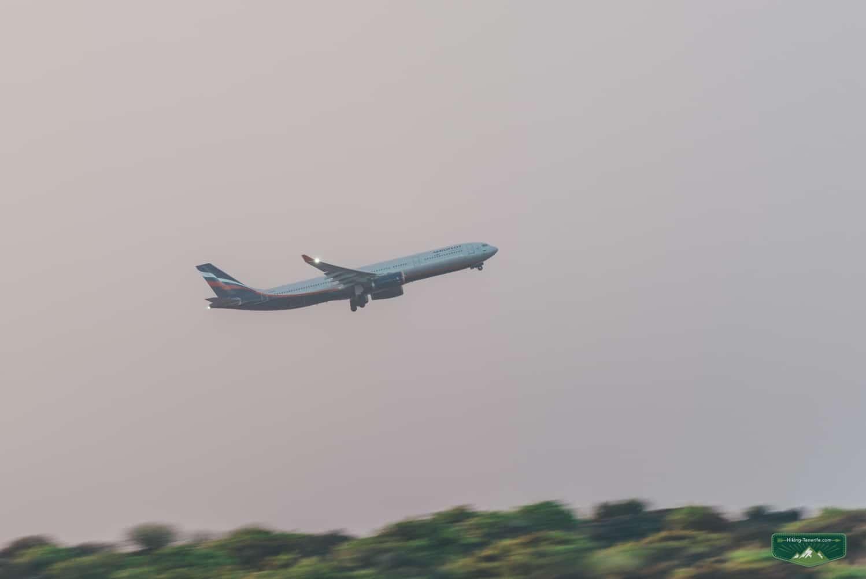 перелёт аэрофлотом на Тенерифе
