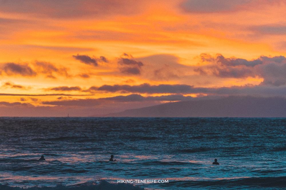 серфинг в Лас Америкас Тенерифе