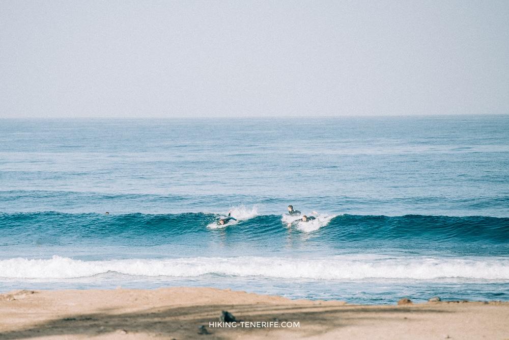 школа серфинга Лас америкас