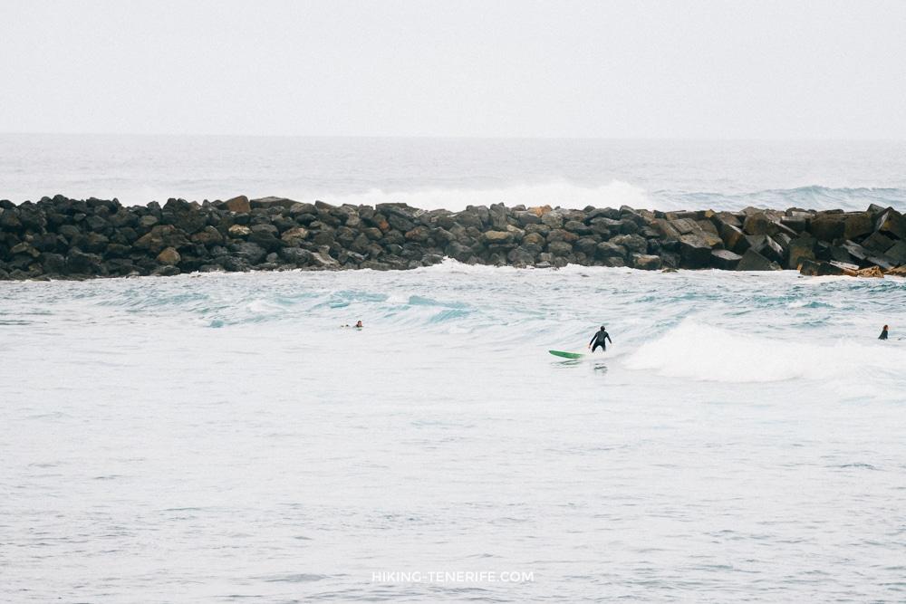 серфинг в Пуэрто де ла Круз Тенерифе