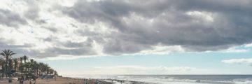 Пляж плайа де ла америкас