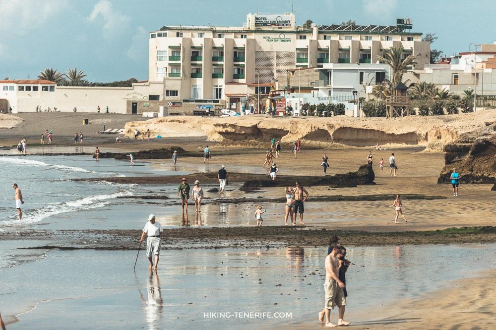 Пляжи с черным песком на Тенерифе