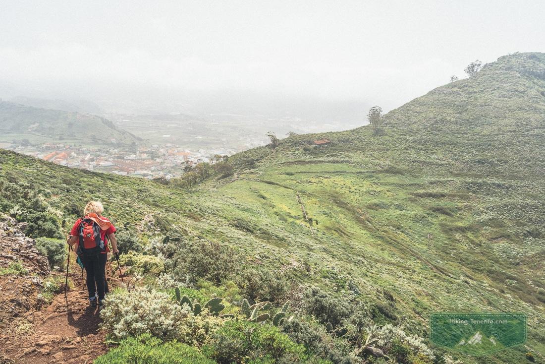Поход в горы Анаги: Тегесте и Техина
