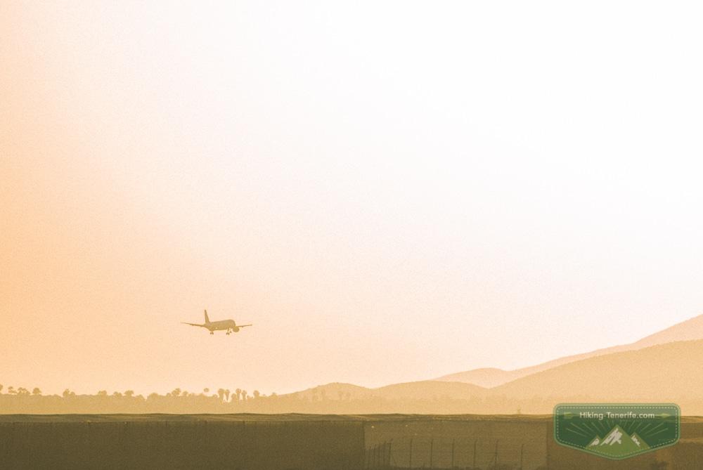 аэропорт тенерифе на закате