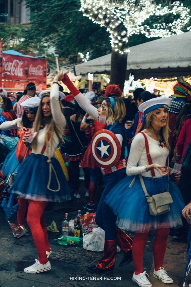 фотография карнавал тенерифе