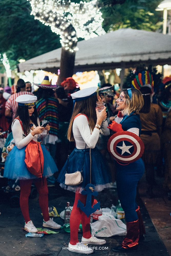 карнавал на тенерифе девушки