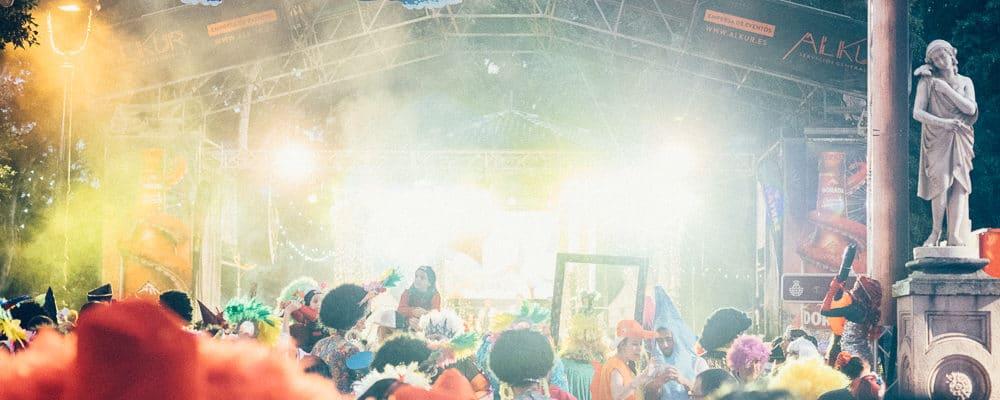 карнавал в Санта Крус