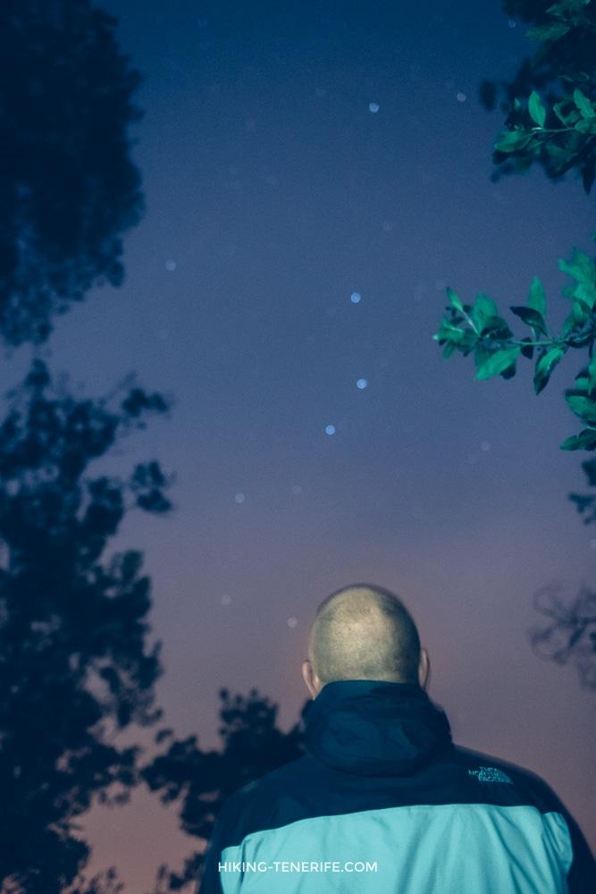 ночью на Тенерифе