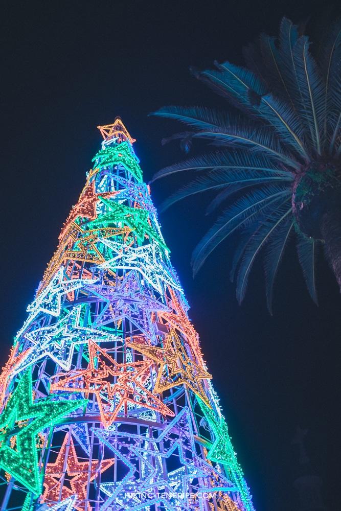 Ла лагуна Тенерифе на новый год