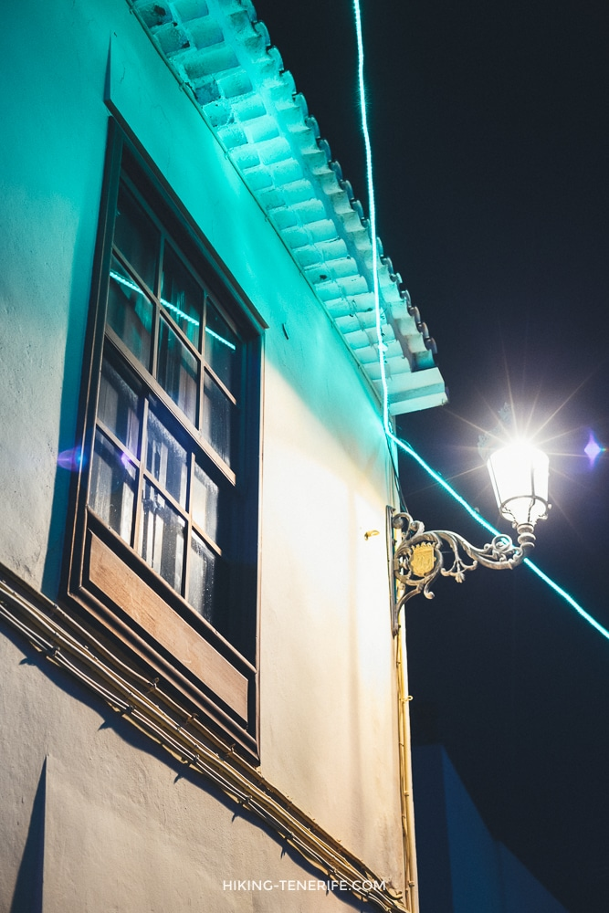 ла лагуна тенерифе ночью