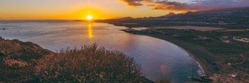 Закат на Красной Горе в Эль Медано