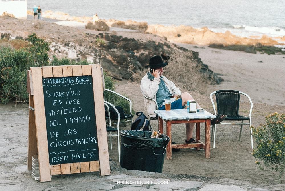 Где смотреть закат: бар Chiringuito pirata
