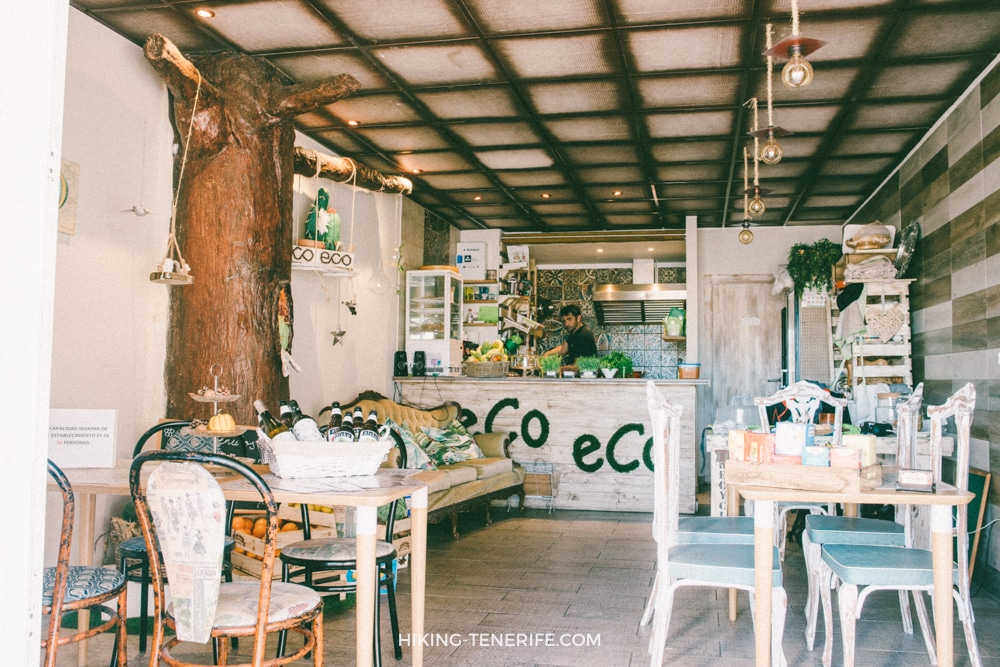 Eco eco brunch cafe в Лос Кристианос