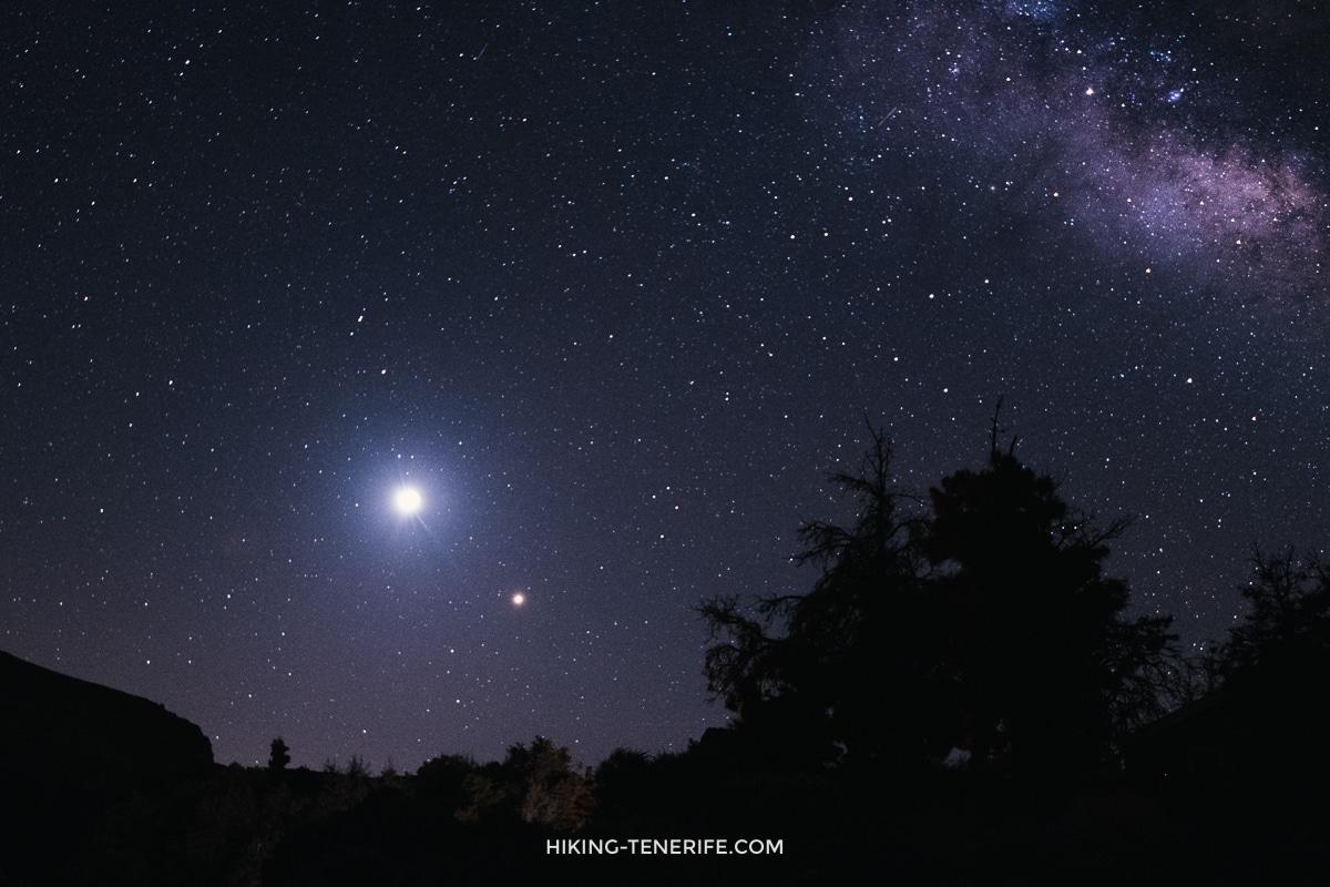 затмение луны на Тенерифе