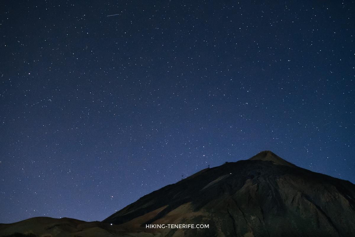 звёзды над Тейде
