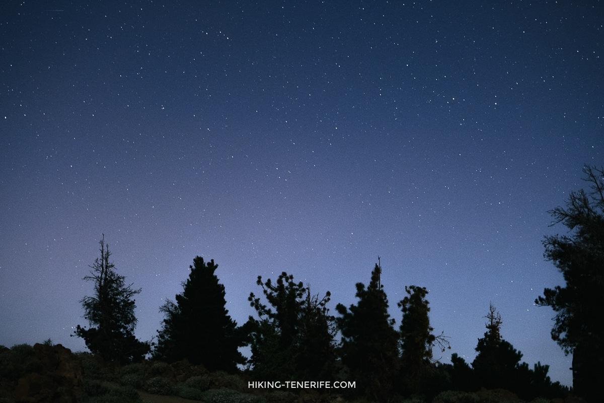 звёзды на Тенерифе