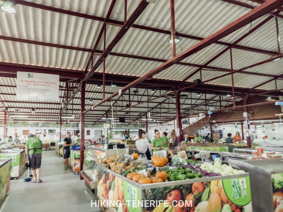 уличные рынки Тенерифе