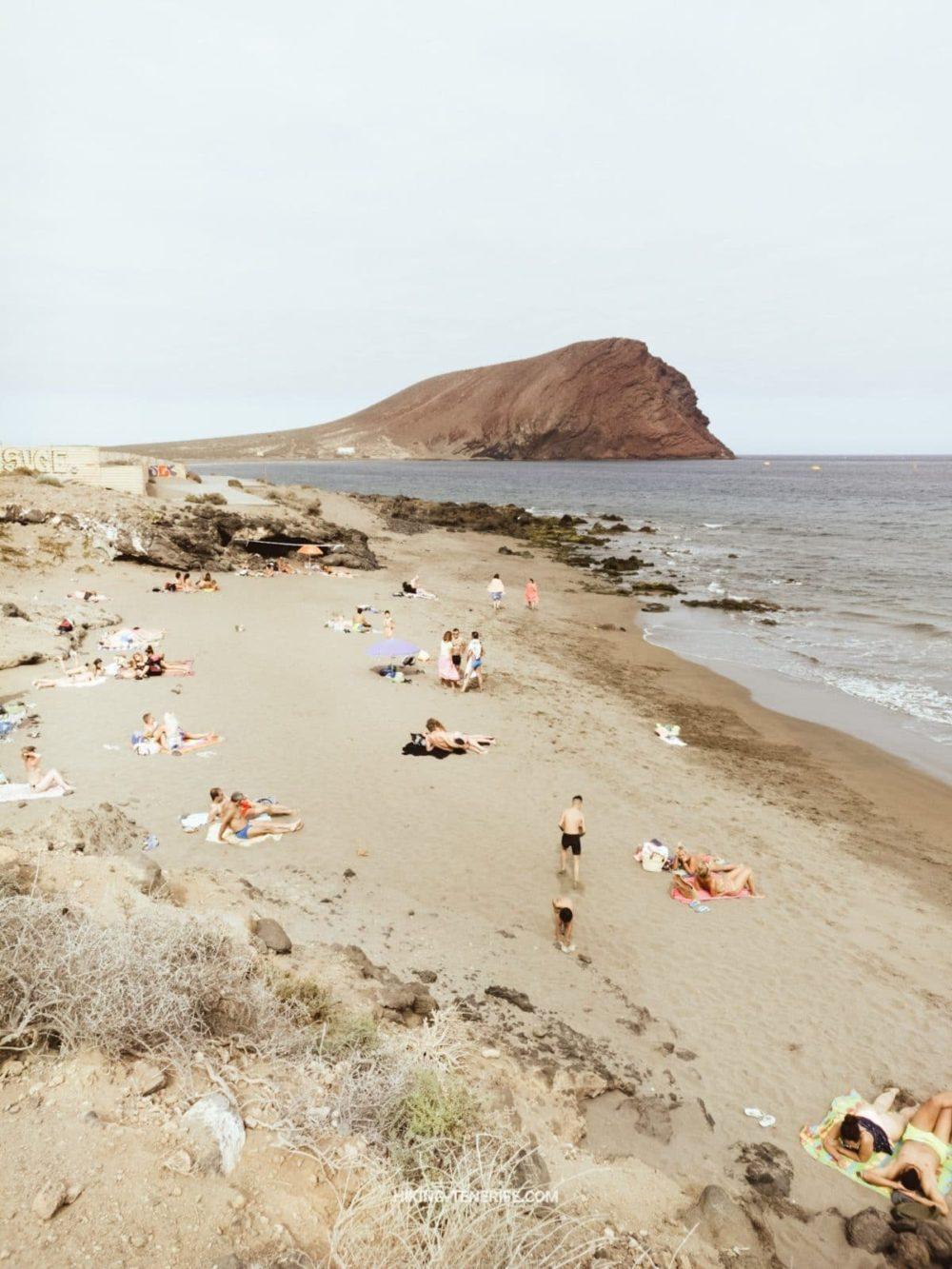 пляж Ла Техита Тенерифе