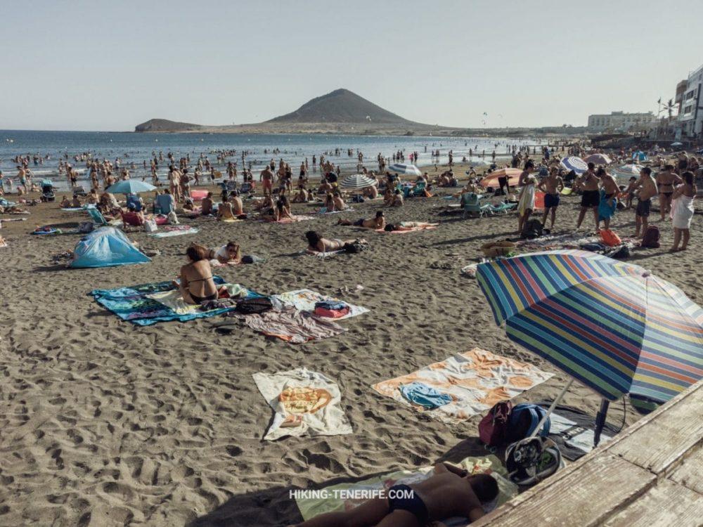 тенерифе в августе пляж