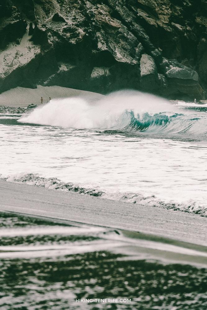 волны пляж Тенерифе