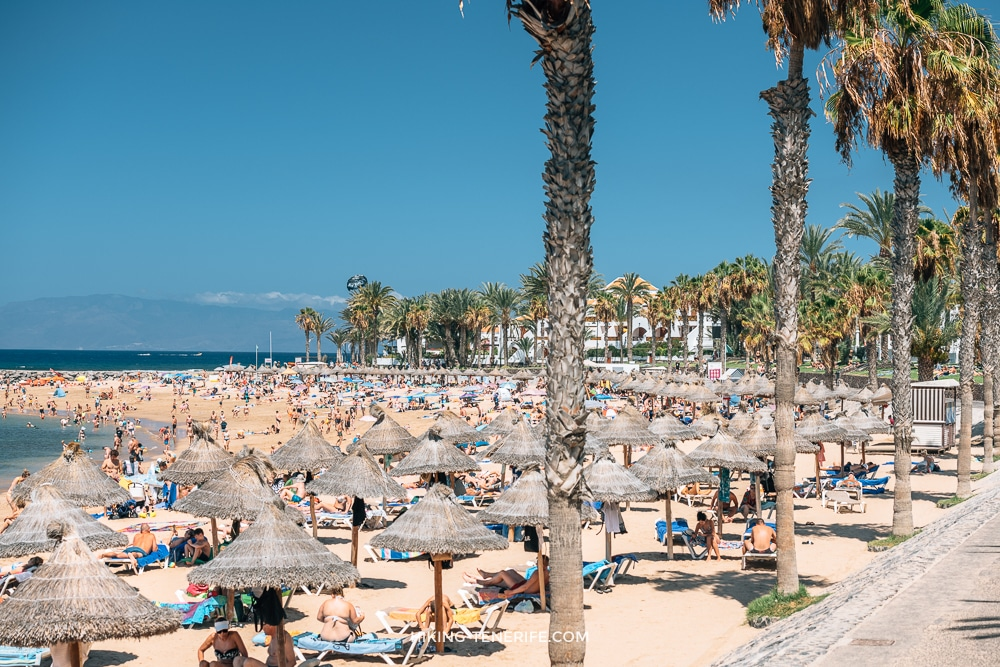 пляж тенерифе в августе