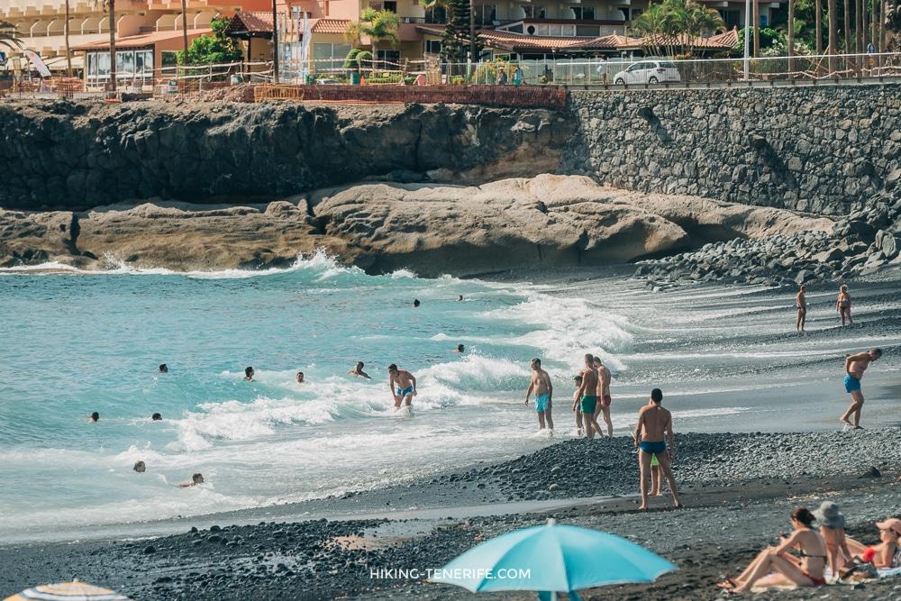 пляж энрамада royal hideaway тенерифе