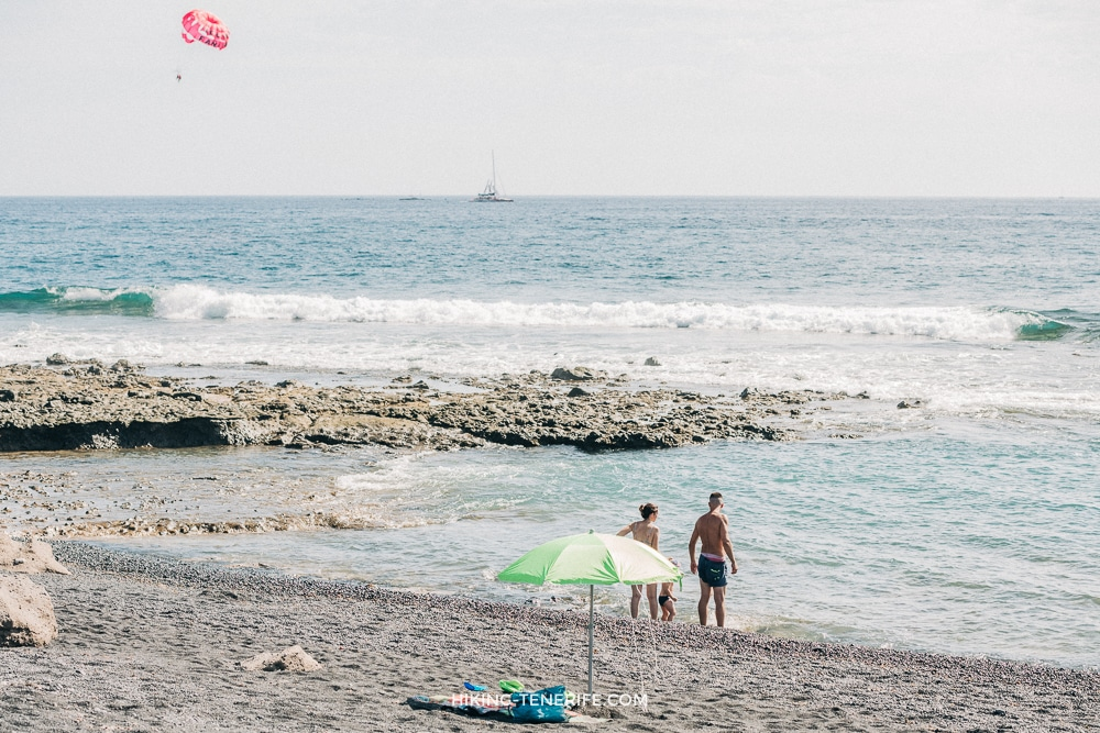 пляжи коста адехе Тенерифе