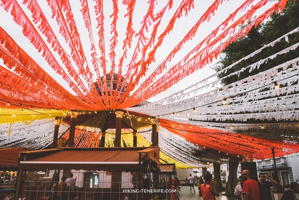 праздники на Тенерифе летом