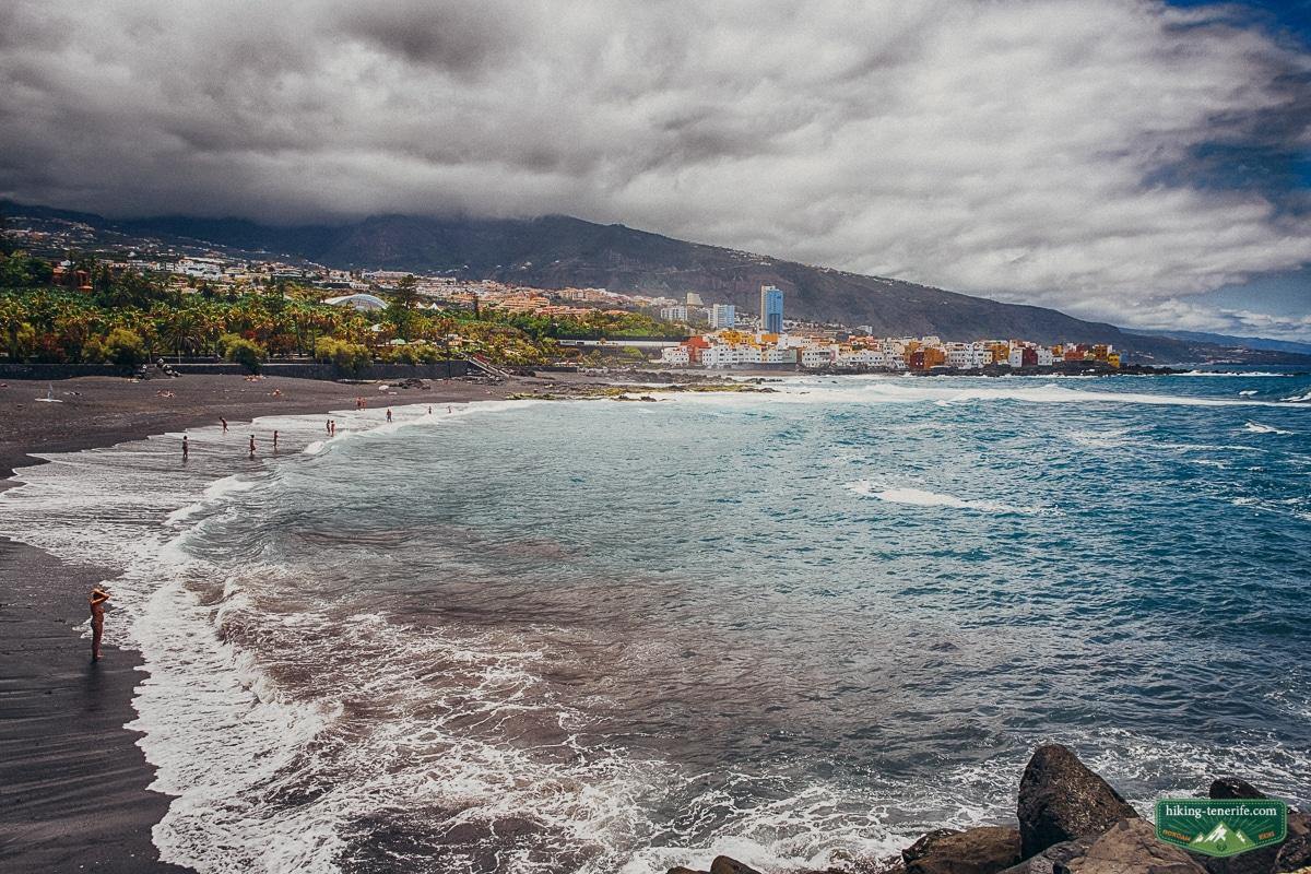 пляж плая хардин пуэрто де ла круз
