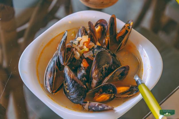 тенерифский суп с морепродутами