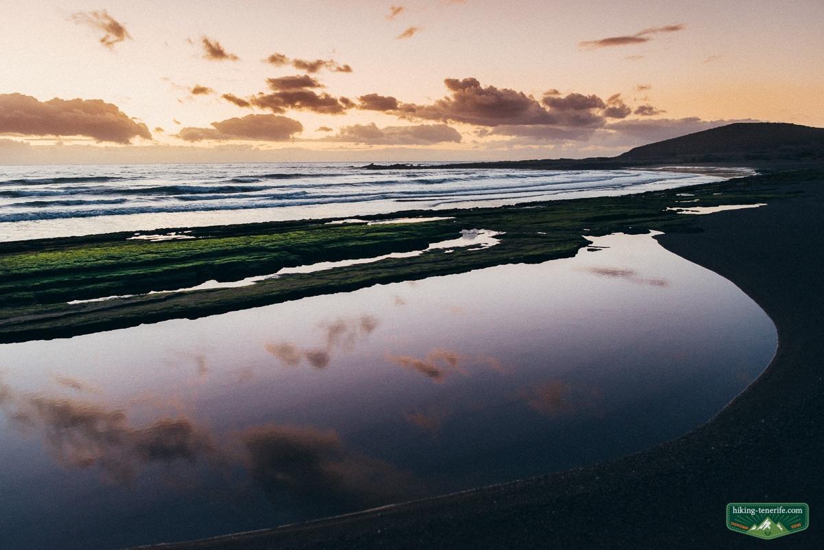 пляж с черным песком эль медано