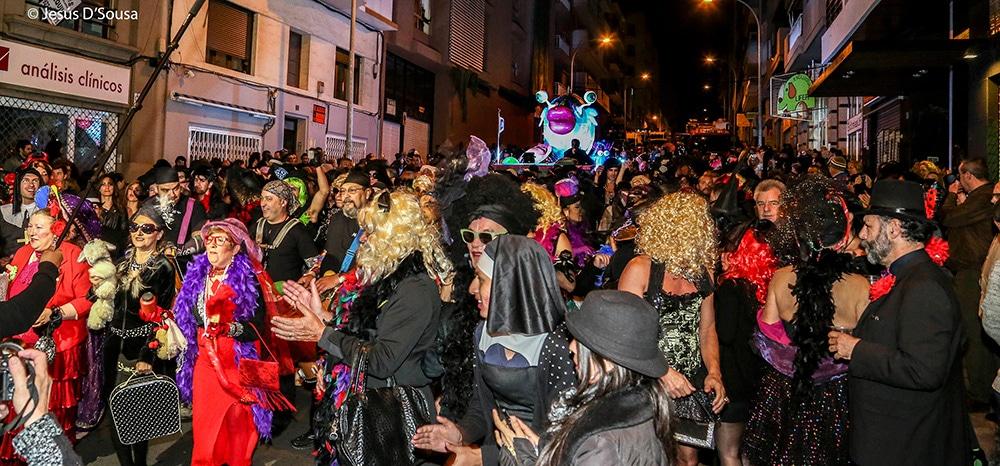 похороны сардины на карнавале в санта крус де тенерифе