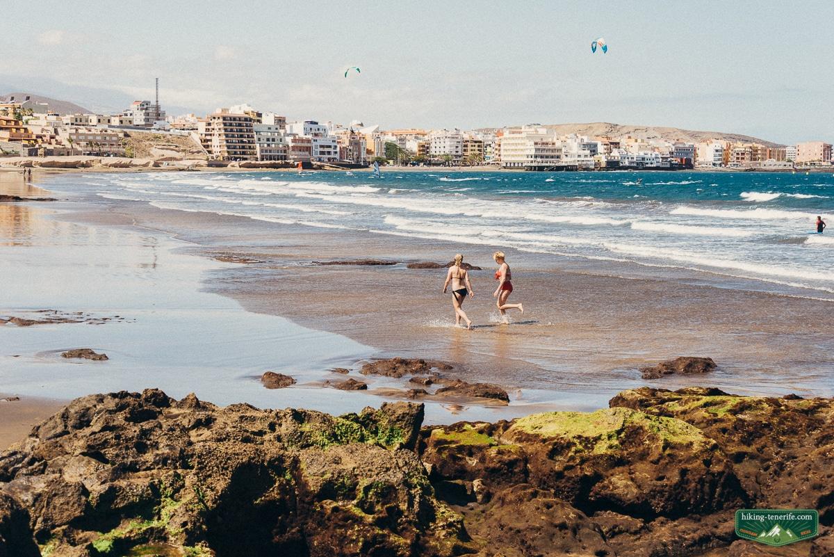 пляжи тенерифе весной