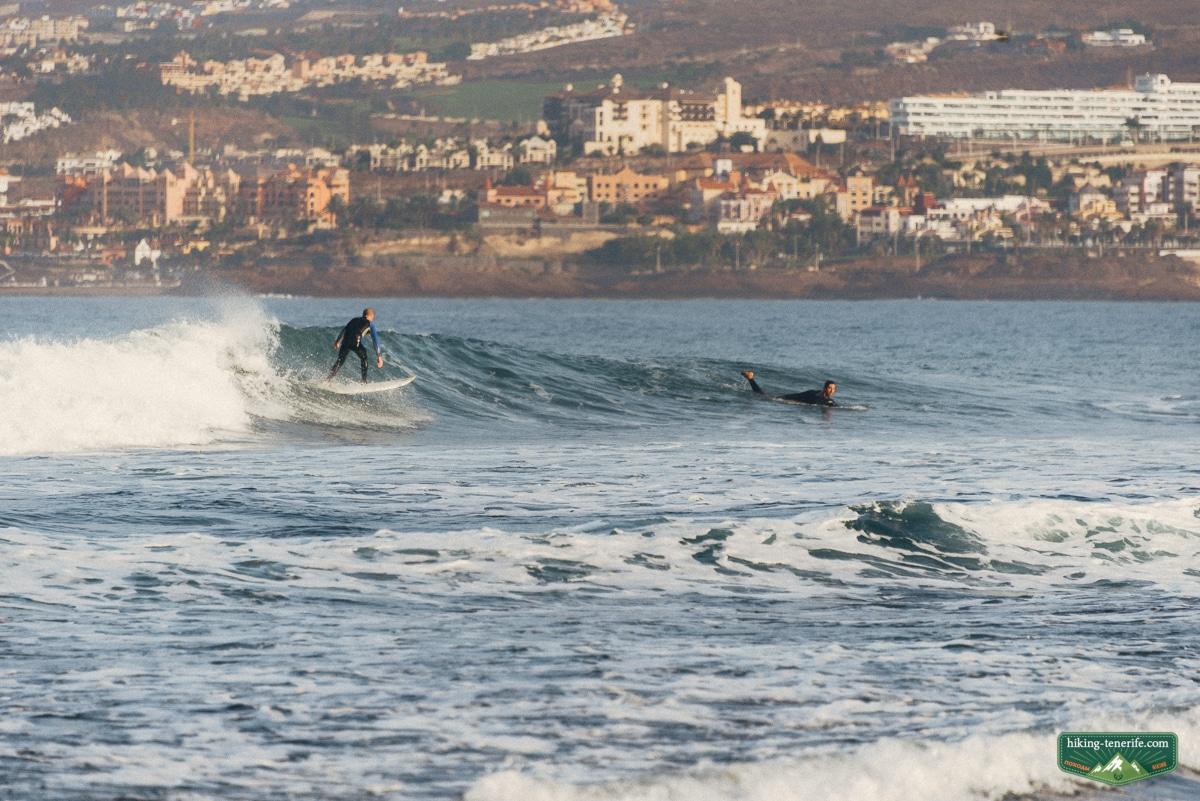 лучшая левая волна для серфинга на Тенерифе