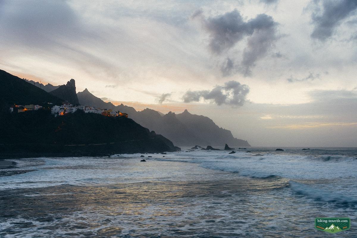 пляж в Таганане