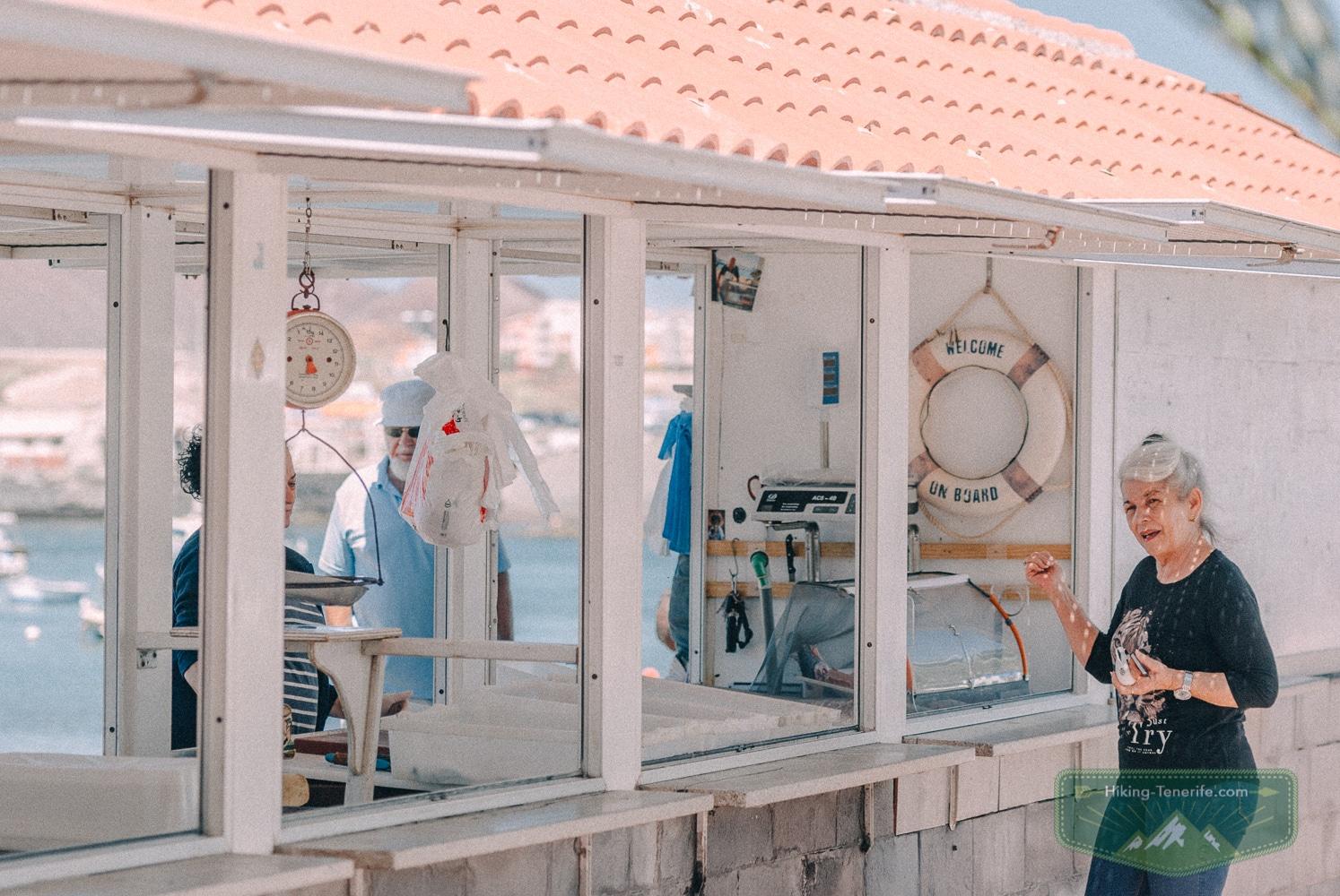 рыбный рынок на Тенерифе