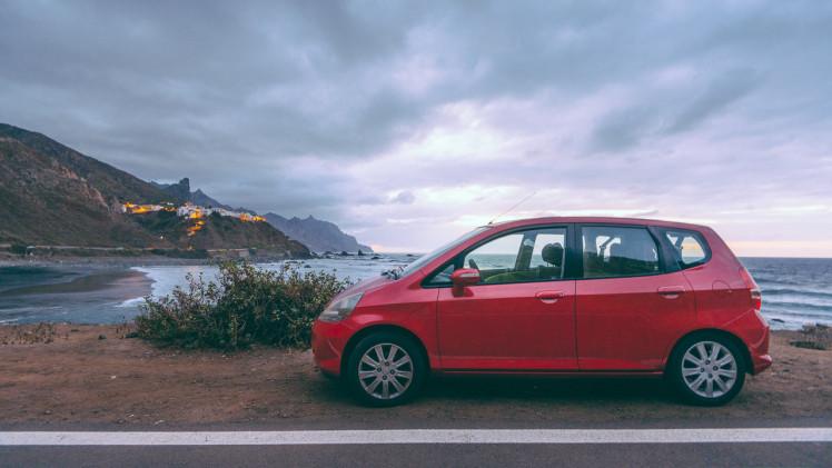 автомобильное путешествие по северу Тенерифе