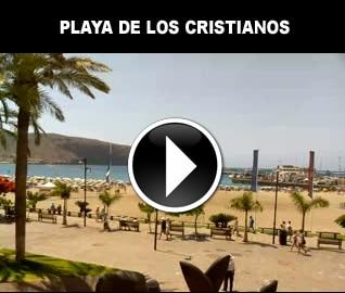 веб камера пляж лос кристианос