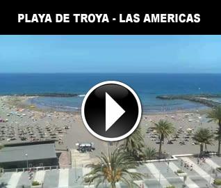 веб камера пляж троя лас америкас