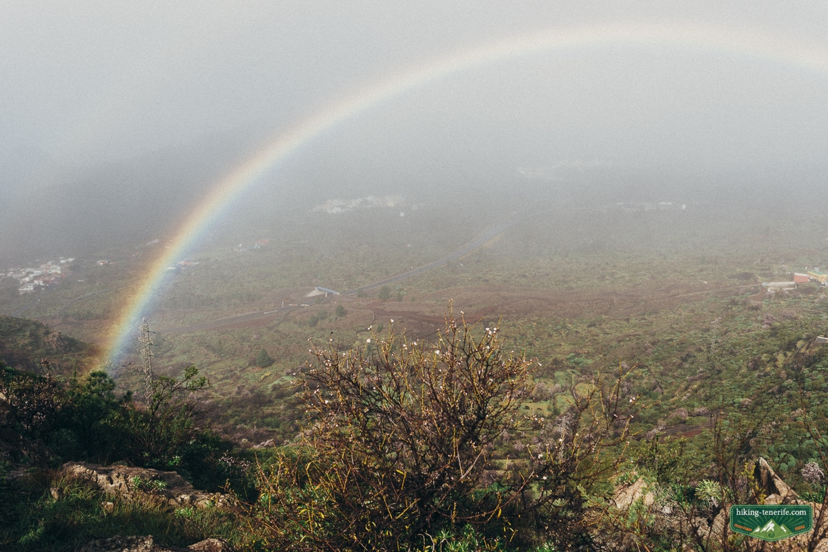 радуга на Тенерифе