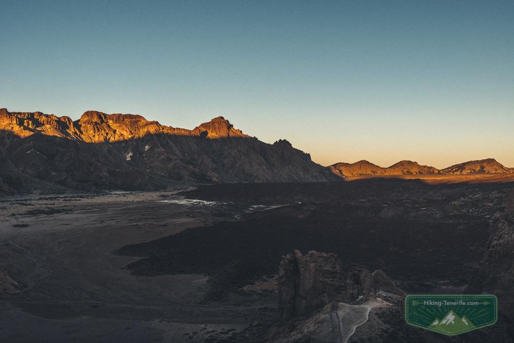 рассвет с вулкана Тейде