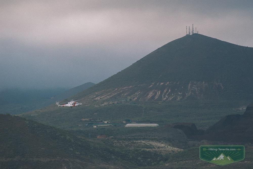 вертолёт на Тенерифе