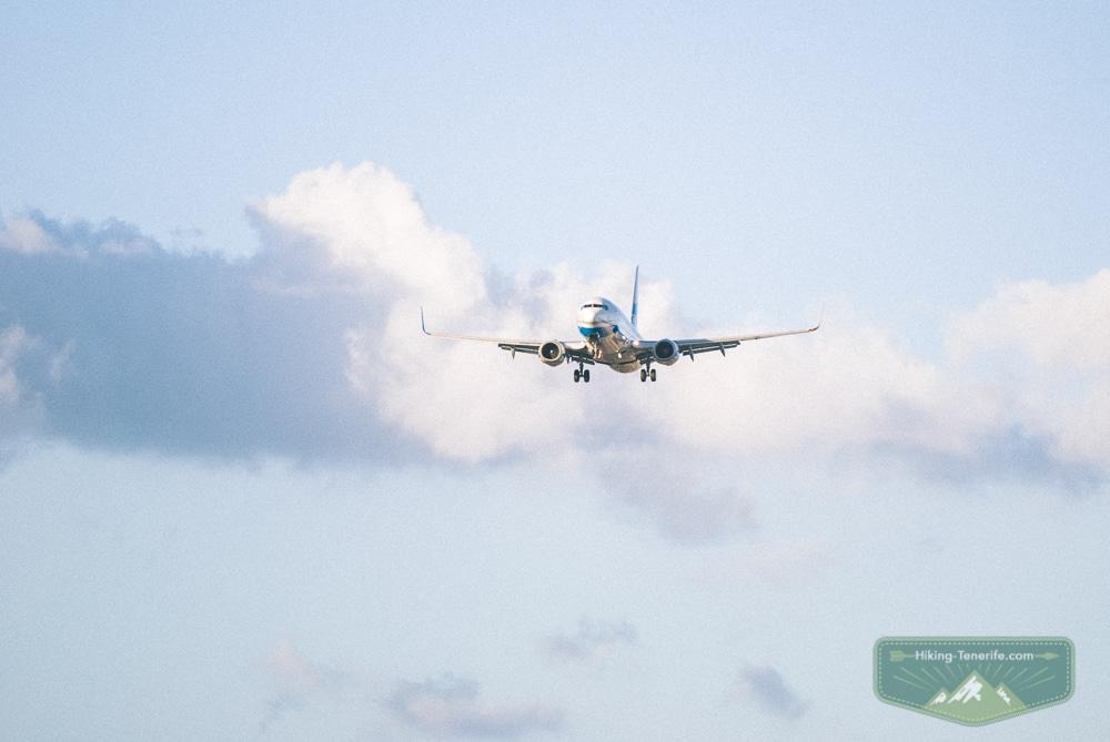 посадка в аэропорту тенерифе